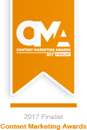 Content Marketing World 2017 Finalists