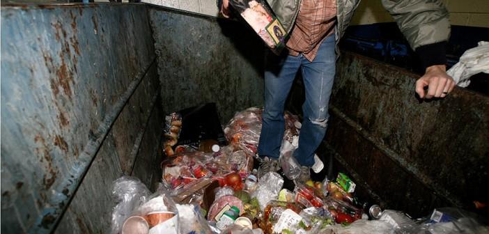 dumpster diving in houston