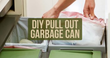 DIY Pull Out Garbage Can