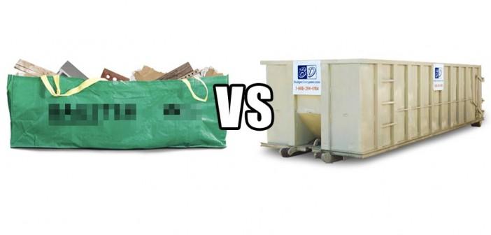 Dumpster vs. Dumpster Bag