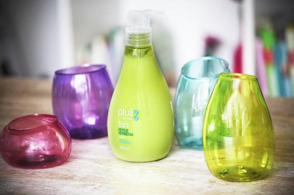 recycled makeup storage plastic bottles