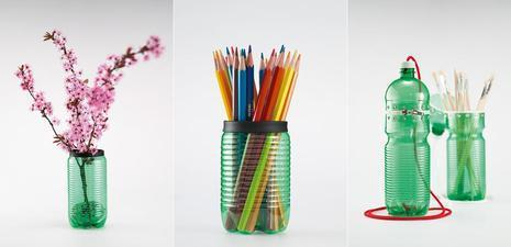 Recycled Plastic Pencil Cup