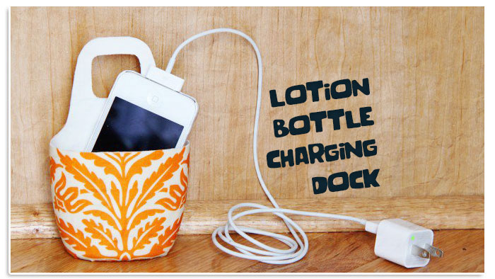Lotion Bottle Charging Dock