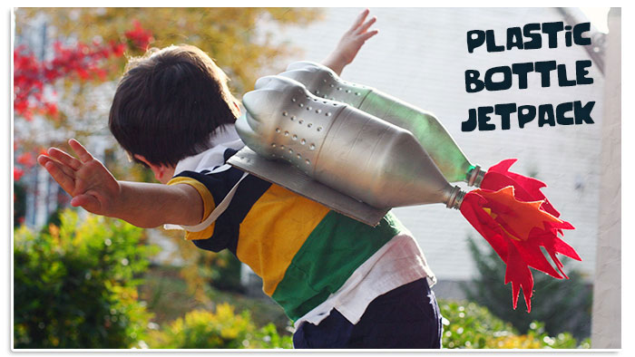 Plastic Bottle Jetpack for Kids