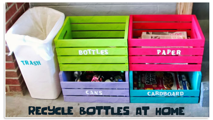 20 creative ways to reuse and recycle plastic bottles for Creative things to do at home out of waste