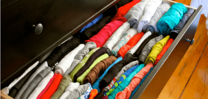 moving tips - clothes in drawers