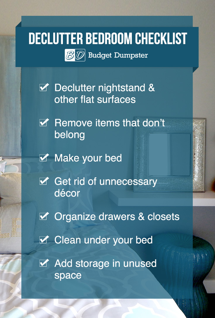How To Declutter Your Master Bedroom Budget Dumpster