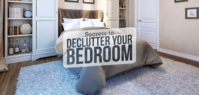 A Decluttered Master Bedroom
