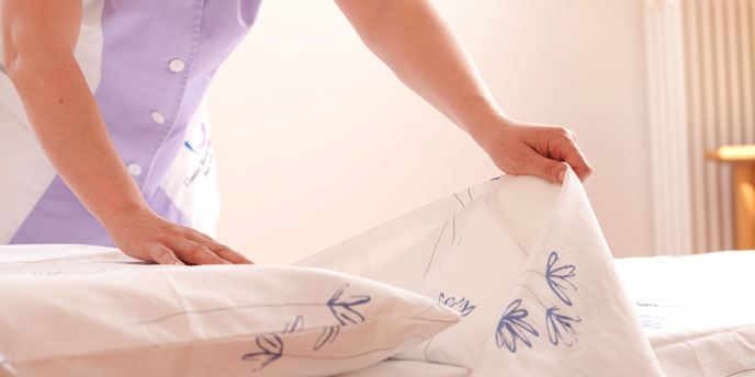 Make the Bed While Decluttering