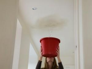 roof leak