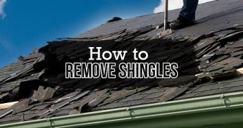 How to Remove Roof Shingles