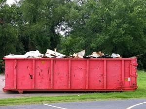 weight of dumpster