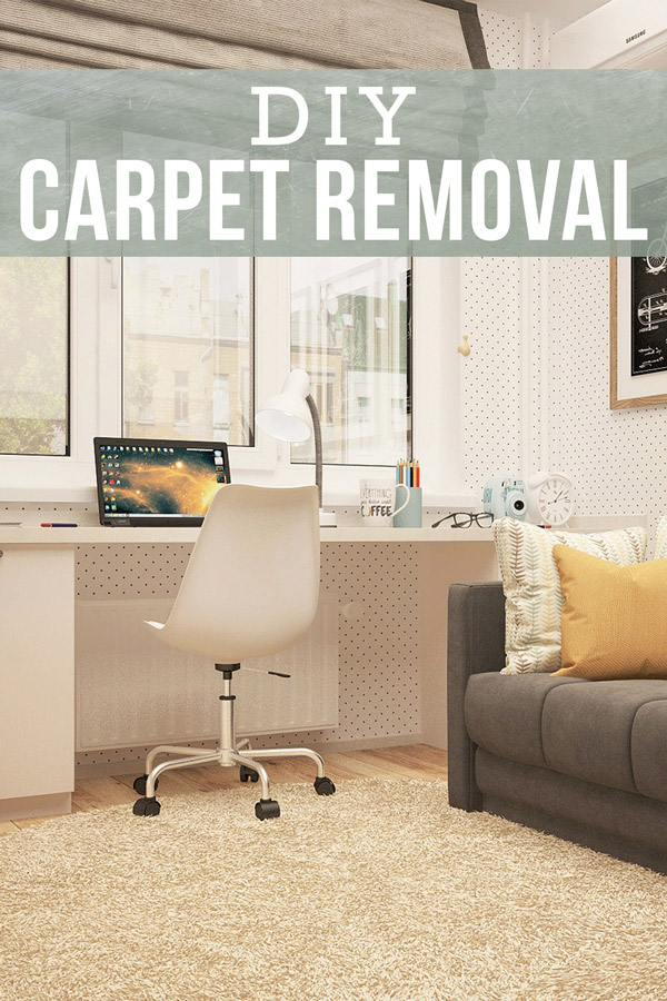 Learn how to remove your old carpet yourself with this super-simple, 7-step guide. You'll save more and gain the satisfaction of ripping up that raggedy old shag carpeting yourself.