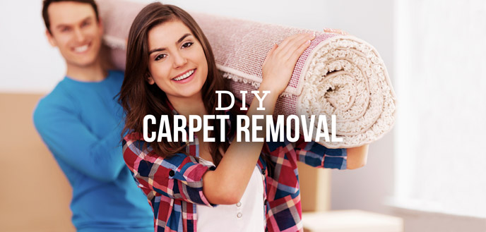 How to DIY Your Carpet Removal