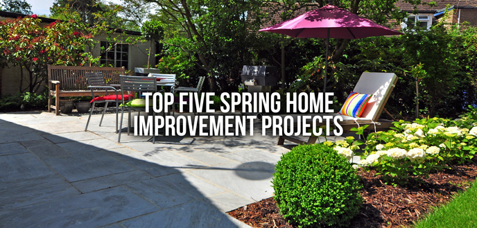 Top 5 Spring Home Improvement Projects