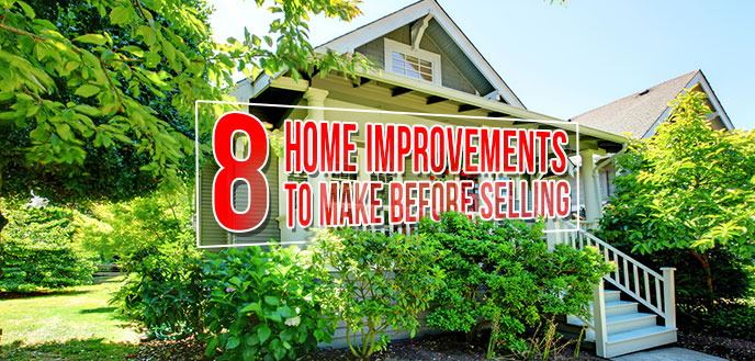 Home Renovations to Make Before Selling