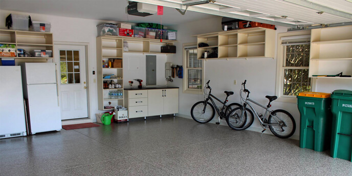 results of organizing your garage - Organize Garage