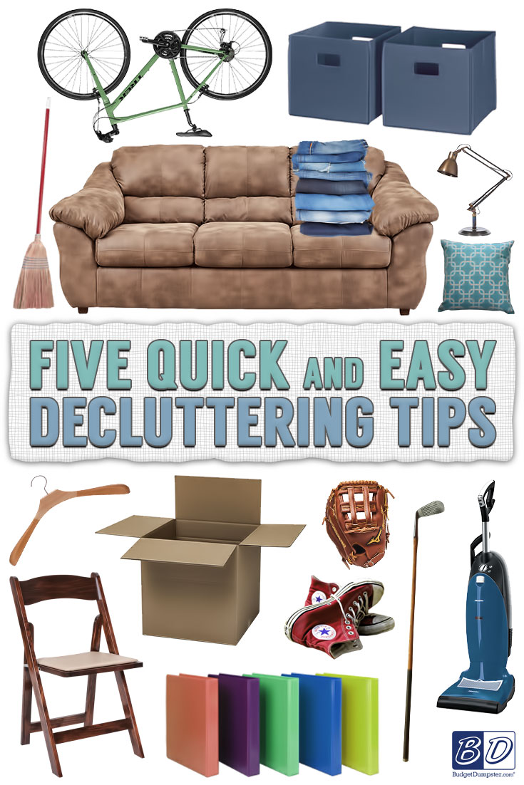 5 easy tips for creating a decluttering plan budget dumpster for Declutter house plan