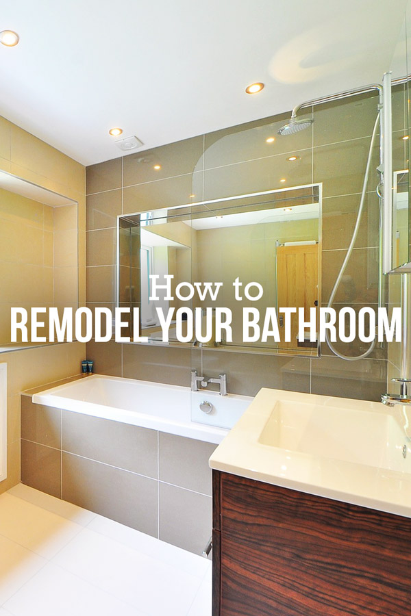 a step by step guide to a do it yourself bathroom remodel budget