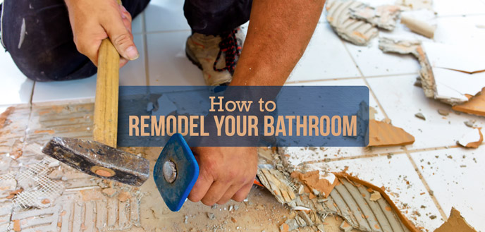 A StepbyStep Guide To A Do It Yourself Bathroom Remodel Budget - Remodel your bathroom yourself
