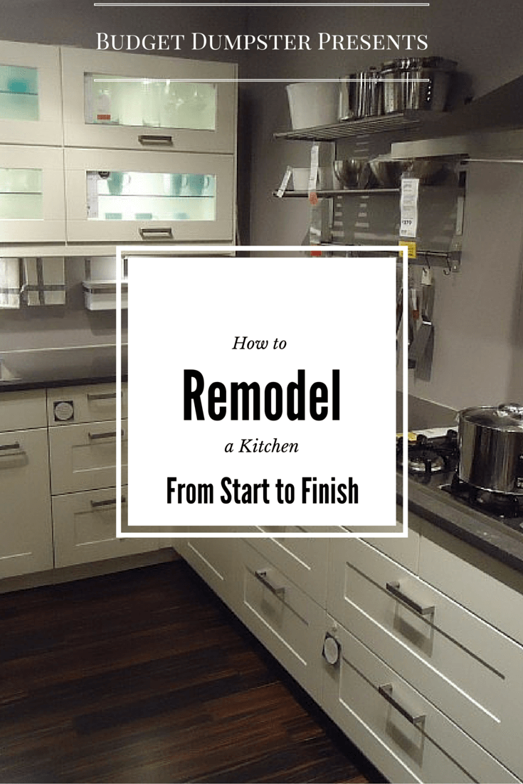 Kitchen Remodeling from start to finish: Follow our step-by-step guide to both DIY & professional kitchen remodels and learn what you can expect over the course of your project.
