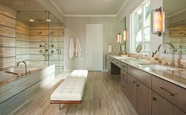 small bathroom tile ideas to transform a cramped space fashioning the bathroom ideas long narrow - Bathroom Ideas Long Narrow Space