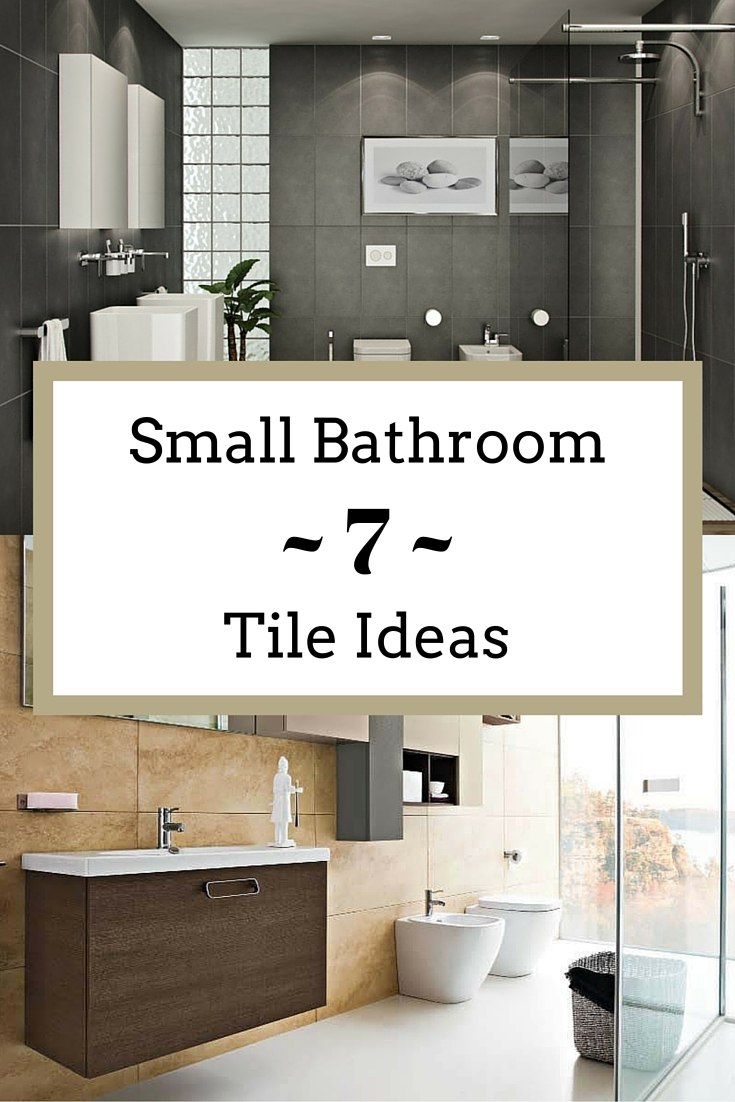 Small bathroom tile ideas to transform a cramped space for Large bathroom tiles in small bathroom