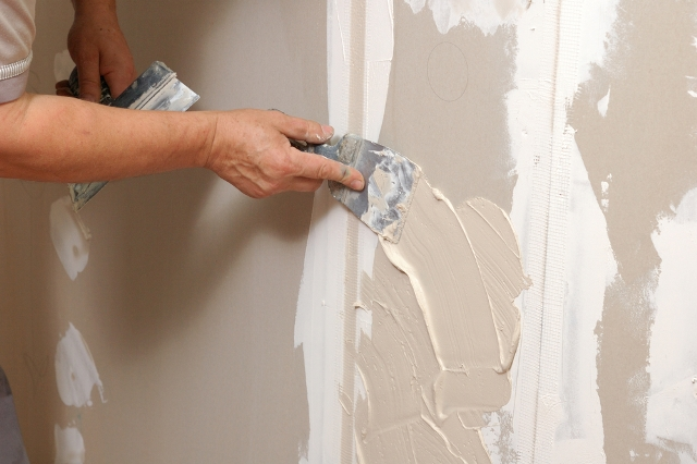patching drywall after removing the tub for a bathtub to shower conversion