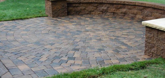 Paver Patio. DIY Paver Patio - Bgbc.co