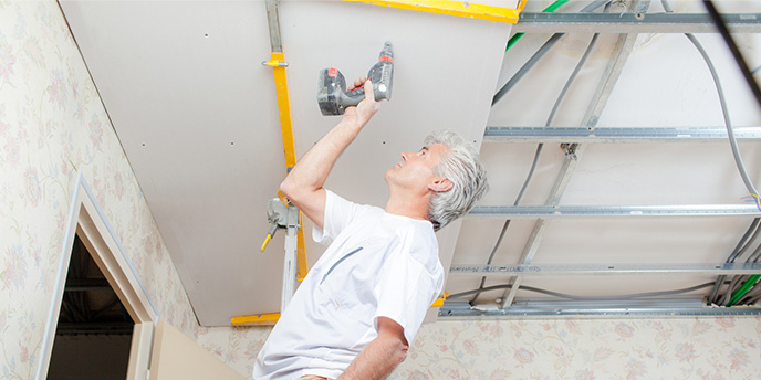 How to Install a Dropped Ceiling in the Basement