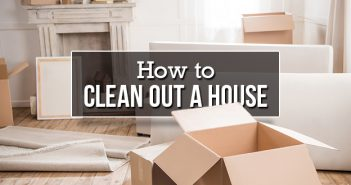 How to Clean Out a House After the Death of a Loved One