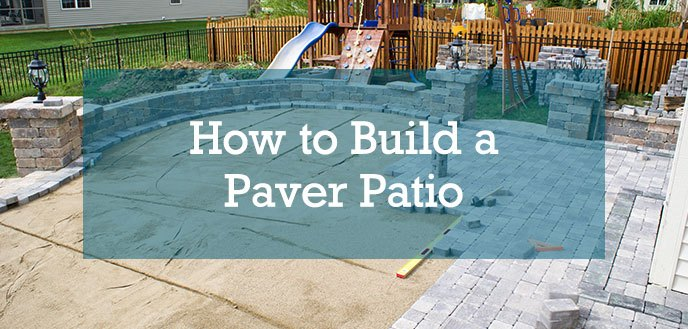 How To Build A Paver Patio Budget, How To Lay Your Own Patio Pavers