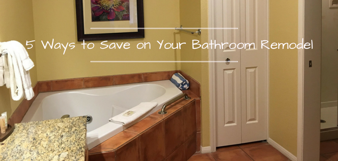 5 ways to save on your budget bathroom remodel