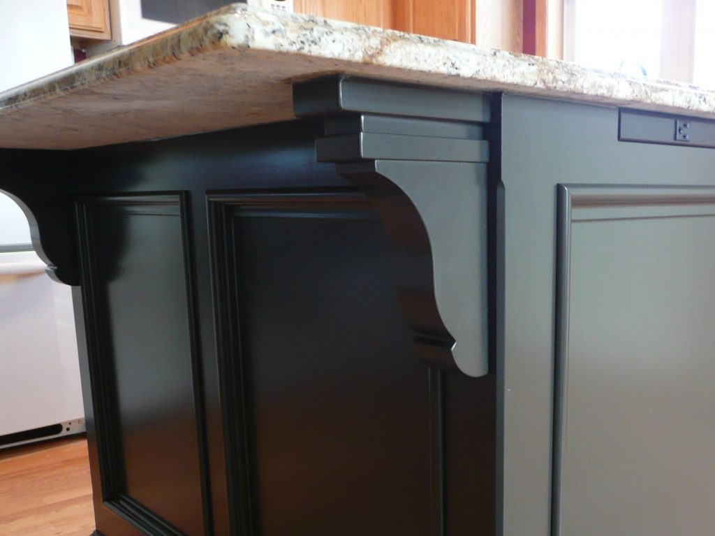 kitchen island corbels how to build a kitchen island 1879