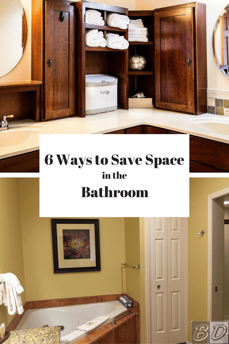 Astounding 6 Space Savers For Small Bathrooms Space Saving Bathroom Ideas Largest Home Design Picture Inspirations Pitcheantrous