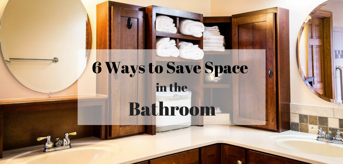 Amazing With These 6 Space Saving Ideas Youu0027ll Finally Be Able To Organize Your  Bathroom