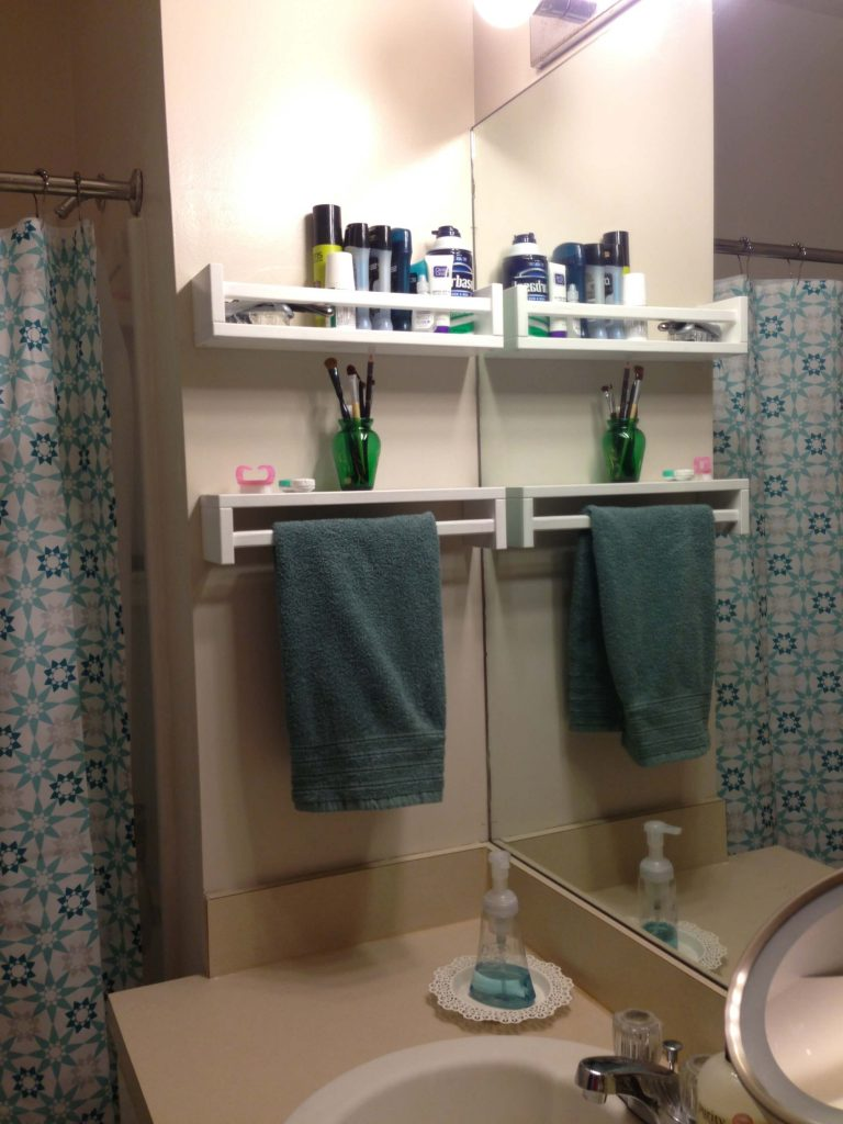 Marvelous Space Savers For Bathroom