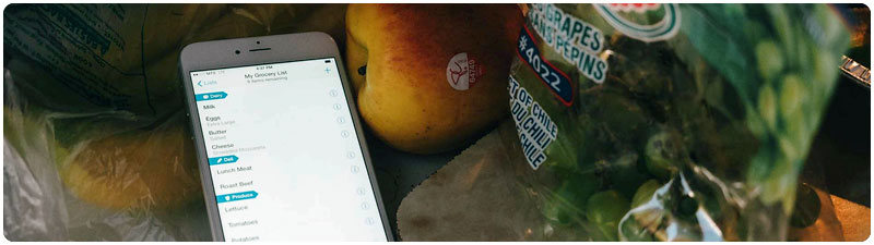 Grocery List on Your Phone