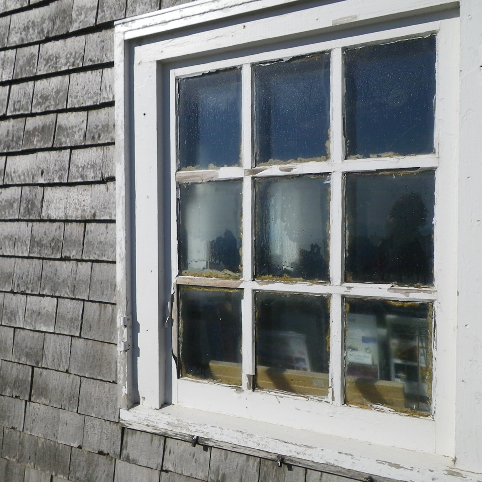 single-pane windows
