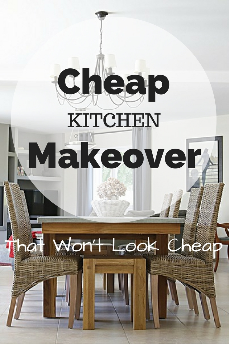 Get design-on-a-dime kitchen makeover tips that won't look cheap.