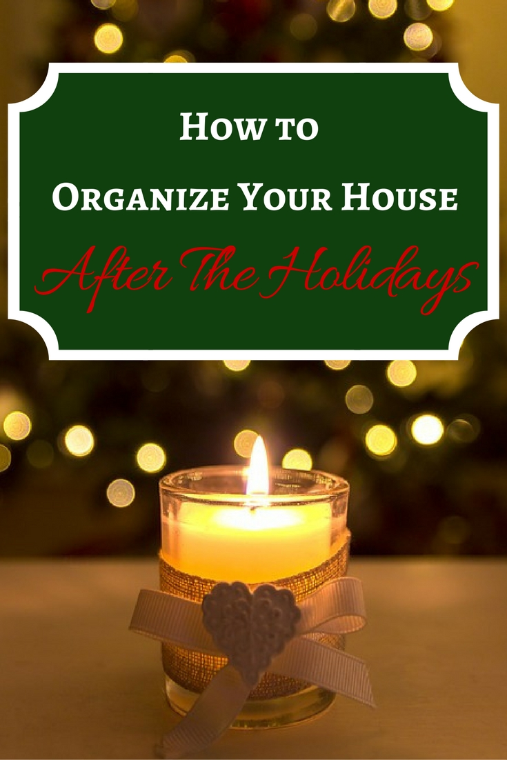 How to Get Organized After the Holidays