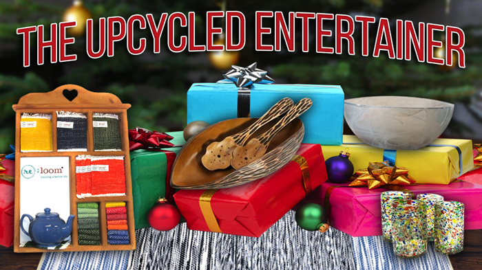 Sustainable Gift Guide: The Upcycled Entertainer