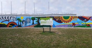 Mural projects completed by Urban Neighborhood Initiatives.
