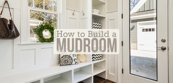 How to Build a Mudroom that Stays Organized