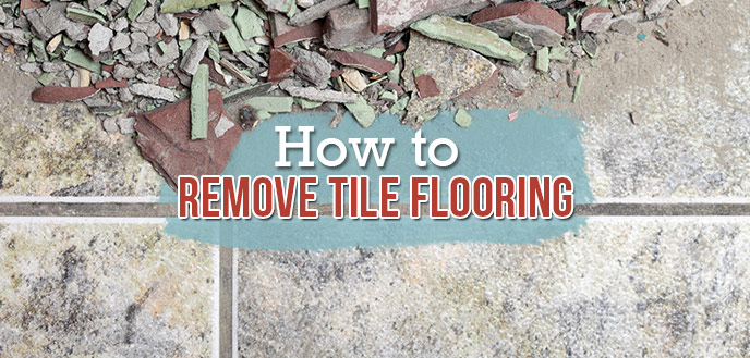 How To Remove Tile Flooring Budget Dumpster