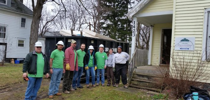 Syracuse Habitat for Humanity partners with Budget Dumpster.