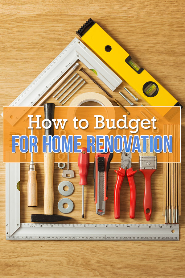 renovation construction budget spreadsheet implementing renovations property renovation budget How to Budget for Home Renovations