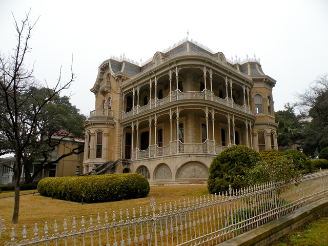 The historic Bremond House in Austin