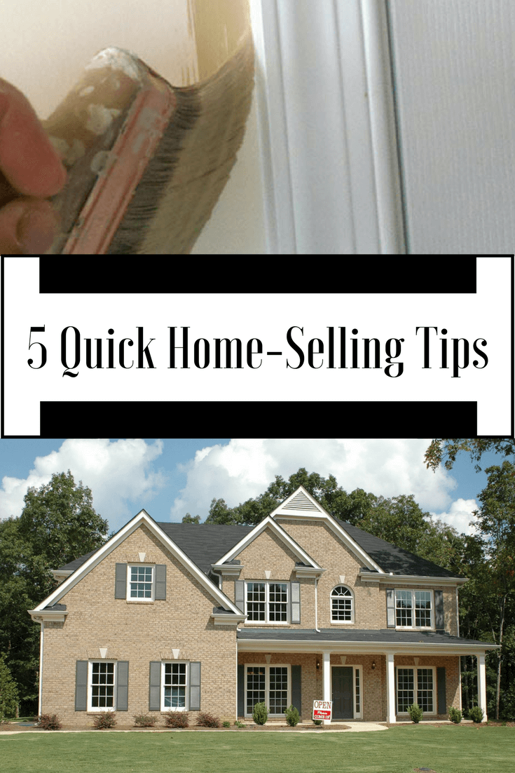 Gearing up to sell your home? Take a look at these 5 quick home-selling tips to ensure those little odds and ends around the home are fixed and spruced up before your first open house.