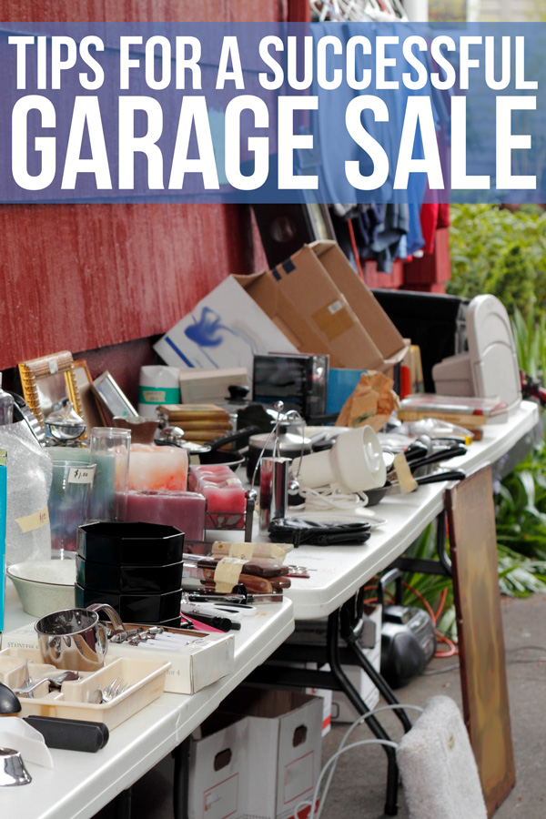 How To Have A Successful Garage Sale Budget Dumpster